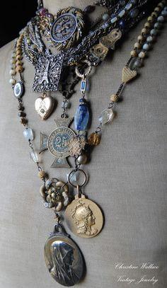 The Vintaquarian — sentimentaljewelryjourney: Antique Medals