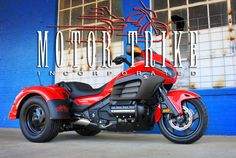 "Motor Trike, Inc., has released an  conversion to add to its expanding product line.  This conversion was designed to fit the brand new 2013 Honda Gold Wing F6B and is aptly named the ""Raptor."" This conversion sits on Motor Trike's exceptional Independent Rear Suspension that is simply unparalleled when ridden side by side with any other trike on the market. http://motortrike.com/trikeHondaF6BRaptor.aspx"