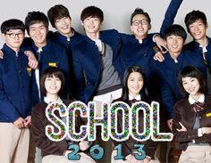 School 2013 starring Jang Nara, Choi Daniel, Lee Jong Suk, Park Se Young, and Ryu Hyoyoung
