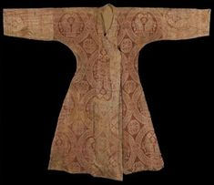 Figure 2 - Seljuk Silk Samite Robe, Central Asia, 11th Century
