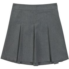 F&F School Girls pleated skirt (5,240 KRW) ❤ liked on Polyvore featuring skirts, bottoms and uniform