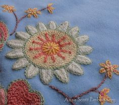 Anna Scott : Wool embroidery II
