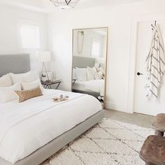 Who else has a busy weekend ahead of them? Ours is filled with the hubs birthday Who else has a busy weekend ahead of them? Ours is filled with the hubs birthday for the master bedroom Bedroom Inspo, Home Decor Bedroom, Bedroom Ideas, Tan Bedroom, Bedroom Frames, Airy Bedroom, Ikea Bedroom, Large Bedroom, Bedroom Storage