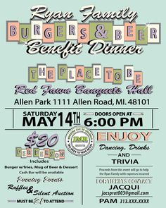 Eat Drink And Be Giving Fundraiser Fundraising Silent Auction