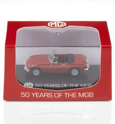 50 Years of the MGB Die Cast Model £5