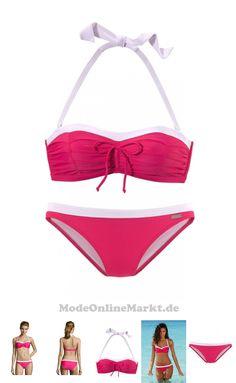 04893848166191 | #LASCANA #Damen #Bügel-Bandeau-Bikini #pink