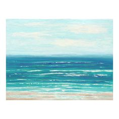 Coastal Home Decor Large Ocean Painting Beach Art by Prchal Art Studio on Etsy  Perdido Key measures 30 x 40 x 1.5 inches on gallery canvas. I used acrylics in gorgeous shades of sky blue, aqua, turquoise, cobalt blue, aquamarine, ocean blue, bright white, taupe, and sandy beige. The sides are bright white, for a clean crisp look. Your painting will arrive signed, sealed, and wired - ready to hang! A Certificate of Authenticity is included. Room views may not be exact to scale. Thanks for…
