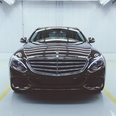 Our drivers made it to the Mercedes-Benz plant in Tuscaloosa, Alabama. And what did they find there? The all-new 2015 #CClass. Photo by @omaranaway @Mercedes-Benz – The best or nothing #mercedes #benz #instacar #MBRT14