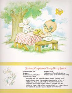 Vintage Strawberry Shortcake 1983 Sweet Treats Calendar - April