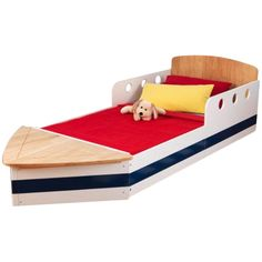 Found it at Wayfair - Boat Convertible Toddler Bed