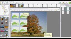 2/3 Hoe maak je snel en gemakkelijk een fotoboek?  - Hoe maak je een achtergrondafbeelding? - Hoe gebruik je sjablonen in de fotofabriek software? - Hoe pas je sjablonen aan? - Hoe kun je sjablonen hergebruiken?
