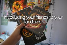 The best part is when you introduce them to one of your fandoms and they become just as obsessed with it as you are! << I introduced my bff to the Percy Jackson fandom and the One Direction fandom... now she's just as crazy as me ;) lol