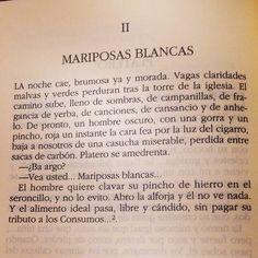 """""""- Ba argo? - Vea usted… Mariposas blancas…"""" #RetoPlatero #Día2 #2014AñoPlatero"""