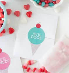 Free Printable DIY Valentines with Avery Labels