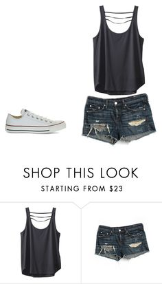 """""""Summer"""" by bwaters-1 ❤ liked on Polyvore featuring Kavu, rag & bone/JEAN and Converse"""