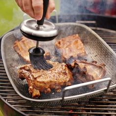 Steel Grill Roaster by Williams-Sonoma - Found on HeartThis.com @HeartThis