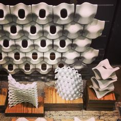 Ceramic Digital Fabrication Tiles - Ron Rael - UC Berkeley