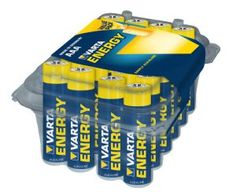 Varta Energy Micro AAA Alkaline Battery (24-Pack)