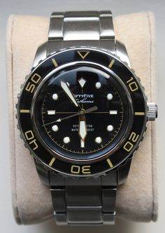 Seiko Fifty Five Fathoms Homage watch
