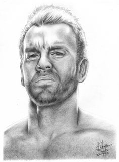 Christian WWE Drawing Cool!
