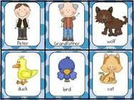 Image result for peter and the wolf matching game