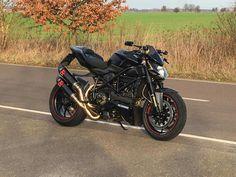 Ducati Streetfighter All Black