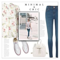 """""""Без названия #7628"""" by bliznec ❤ liked on Polyvore featuring Converse, River Island and Calvin Klein"""