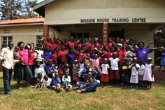 Mission House staff and mothers with their children #success