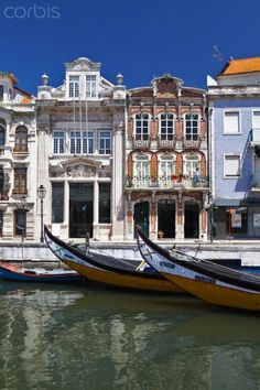 Aveiro, Portugal LA pequeña VENECIA portuguesa