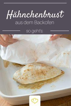 Extra zart und aromatisch: Hähnchenbrust aus dem Backofen.