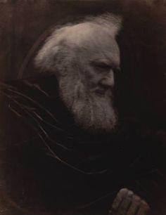 Portrait of H. T. Prinsep --   Julia Margaret Cameron 1866
