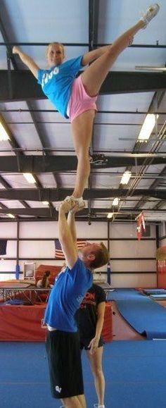 I definetly miss cheerleading!