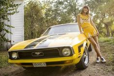 'The Girl's' 1972 Mustang from Death Proof