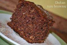 Dukan Rum Brownie | DUKAN DIET RECIPES
