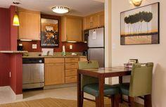 Residence Inn Ft. Myers Sanibel Hotel-Executive Suite Dining Area http://www.marriott.com/hotels/event-planning/travel/rswrs-residence-inn-fort-myers-sanibel/
