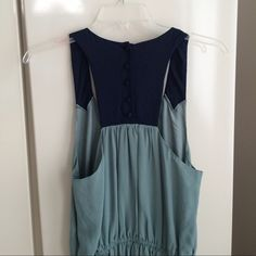 """Anthropologie Dress Anthropologie Maeve Dress size 8P. 100%Rayon. NWOT. Total length 43"""" pit to pit 17"""". Tback with covered buttons. Anthropologie Dresses Midi"""