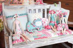 Bonecas e produtos Tilda, tudo feito na True Friends!