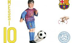 "Safe toys, marionette Lionel Andrés ""Leo"" Messi is an Argentine footballer who plays as a forward for La Liga club FC Barcelona official product. Lionel Messi, Fc Barcelona, Leo, Football, The League, Soccer, Futbol, American Football, Lion"