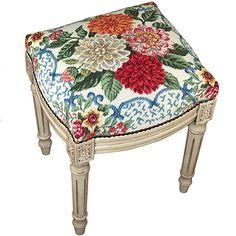 Mandarin Garden Stool from @PoshTots #furniture #flowers #decor #garden #design
