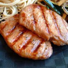 Côtes de porc à la chinoise, pour changer un peu !