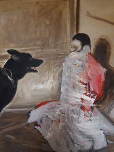 Miguel Laino. America Experimento. Acrylic on canvas.