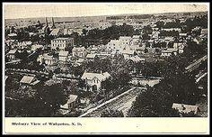 Wahpeton North Dakota Birds Eye Postcard View Mailed | eBay