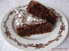 Feiner Schokoladenkuchen, einfache Zubereitung, sehr beliebt nicht nur bei den Kindern.