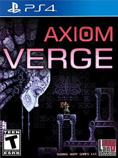 Axiom Verge  PlayStation 4 Standard Edition