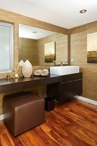via jeff lewis i say the bigger bathroom the better - Jeff Lewis Design Wallpaper