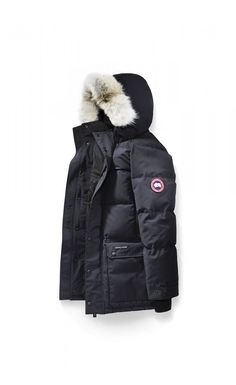 Canada Goose Emory Parka Navy Men - Canada Goose #canadagoose #parka #jacket #fashion #Halloween #blackFriday