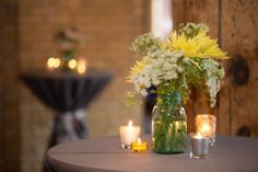 Farmer's market floral by Honeycomb Collective at St. Anthony Main Event Center, Minneapolis MN