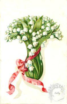 (227) Gallery.ru / Фото #11 - cartes vintage fleurs (xxl) - florette