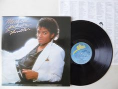 Michael Jackson Thriller Vinyl LP Epic EPC 85930 Gatefold Sleeve / Lyric Inner   http://www.ebay.co.uk/itm/Michael-Jackson-Thriller-Vinyl-LP-Epic-EPC-85930-Gatefold-Sleeve-Lyric-Inner-/371639266258