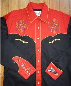 4b11345c2 Men s Vintage Western Shirt Collection  Rockmount Atomic Cowboy